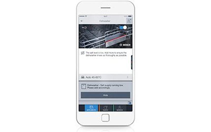 Bosch notification SMS68TW06E