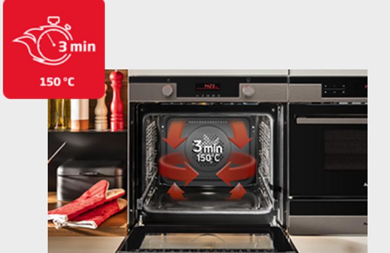 Lò nướng Bosch HBG674BS1B Fast Pre heat