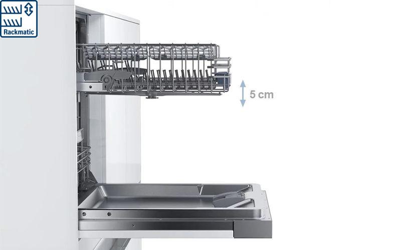 Máy rửa bát Bosch Rackmatic
