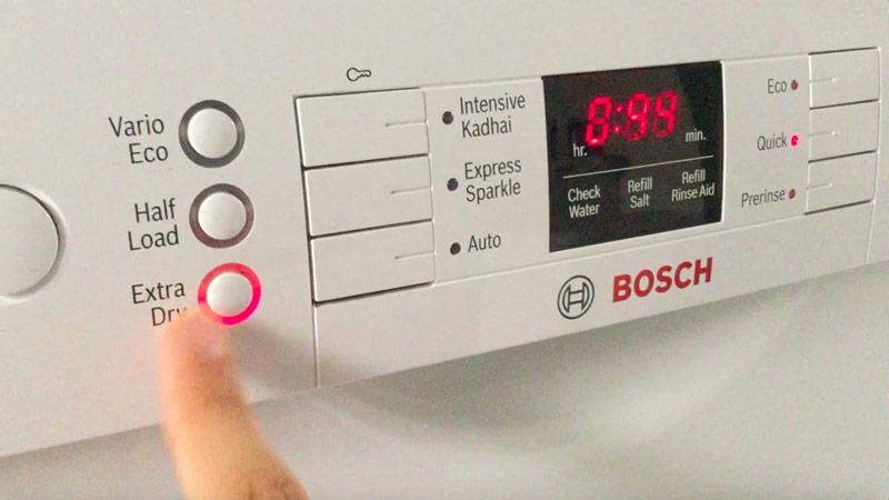 Máy rửa bát Bosch Extra Drying