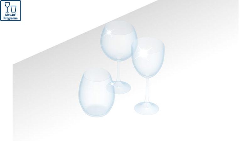 Máy rửa bát Bosch Glass care
