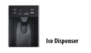 Tủ lạnh Hafele Ice Dispenser