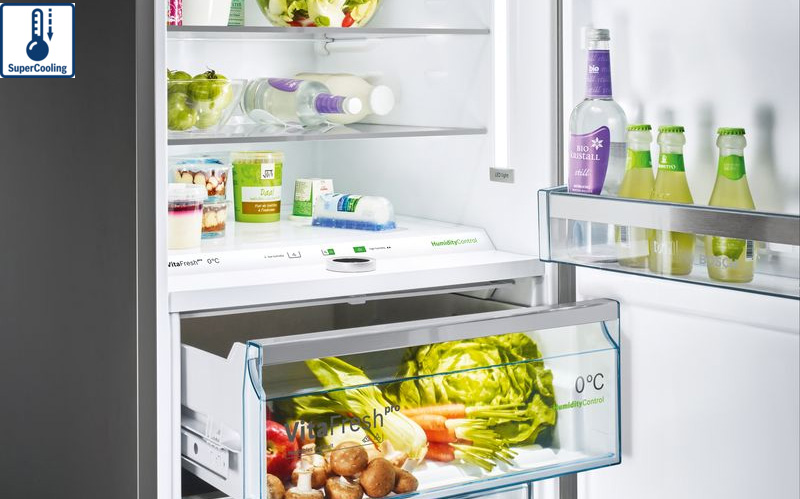 Tủ lạnh Bosch KGN56LB40O Super cooling