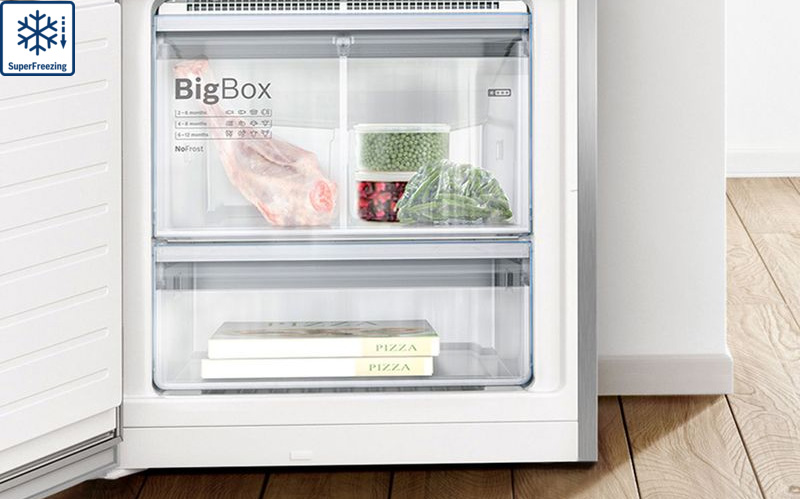 Tủ lạnh Bosch KGN56HI3P superfreezing