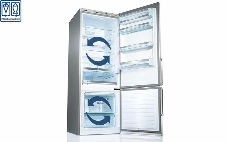 Tủ lạnh Bosch KGN56LB40O 2 hệ thống làm lạnh