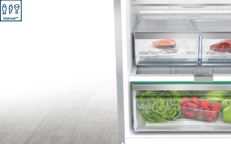 Tủ lạnh Bosch KGN56HI3P vitafresh
