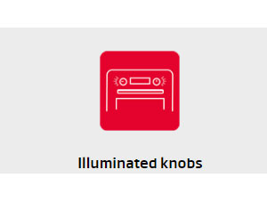 Lò nướng hafele Lluminate Knobs