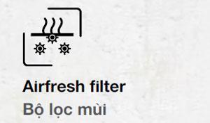 Tủ lạnh Hafele bộ lọc mùi