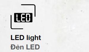 Tủ lạnh hafele đèn Led chiếu sáng