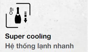 Tủ lạnh Hafele hệ thống làm lạnh nhanh