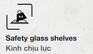 Tủ lạnh hafele kính chịu lực
