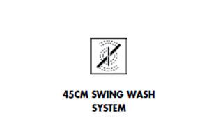 Máy rửa bát Smeg Swing Wash System