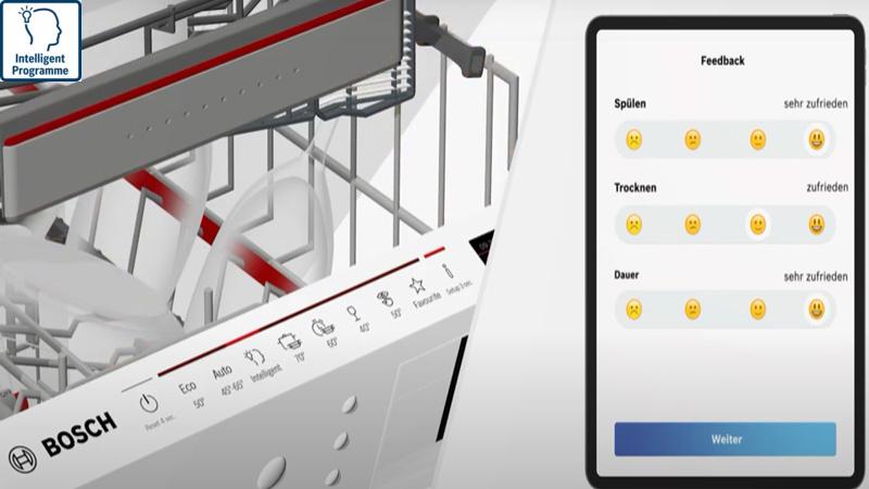 Máy rửa bát Bosch Intelligent Programme